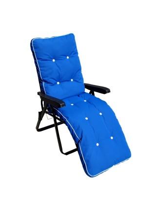 Шезлонг Ost-Fran Melissa teksilk синий