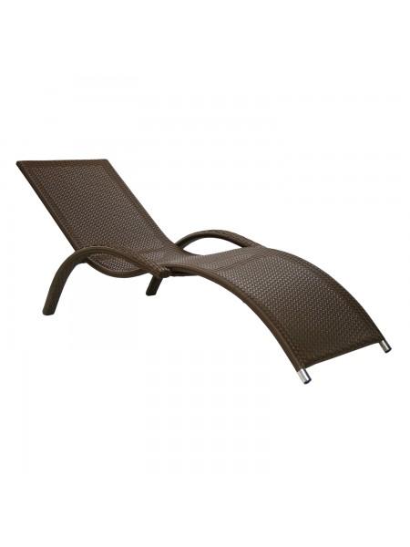 Лежак Garden4You Meridian коричневый