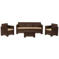Комплект садовой мебели Bica Nebraska 3 коричневый